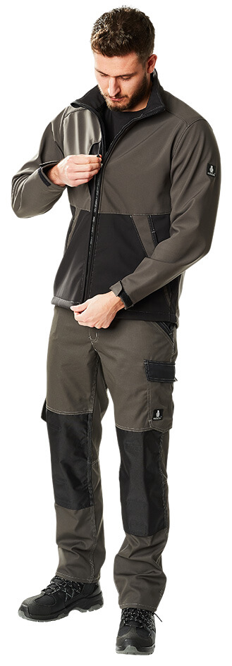 Veste softshell & Pantalon - Anthracite foncé/Noir - MASCOT® LIGHT