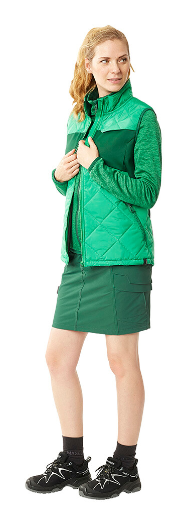 MASCOT® ACCELERATE Jupe, Gilet thermique & Sweat - Vert - Femme